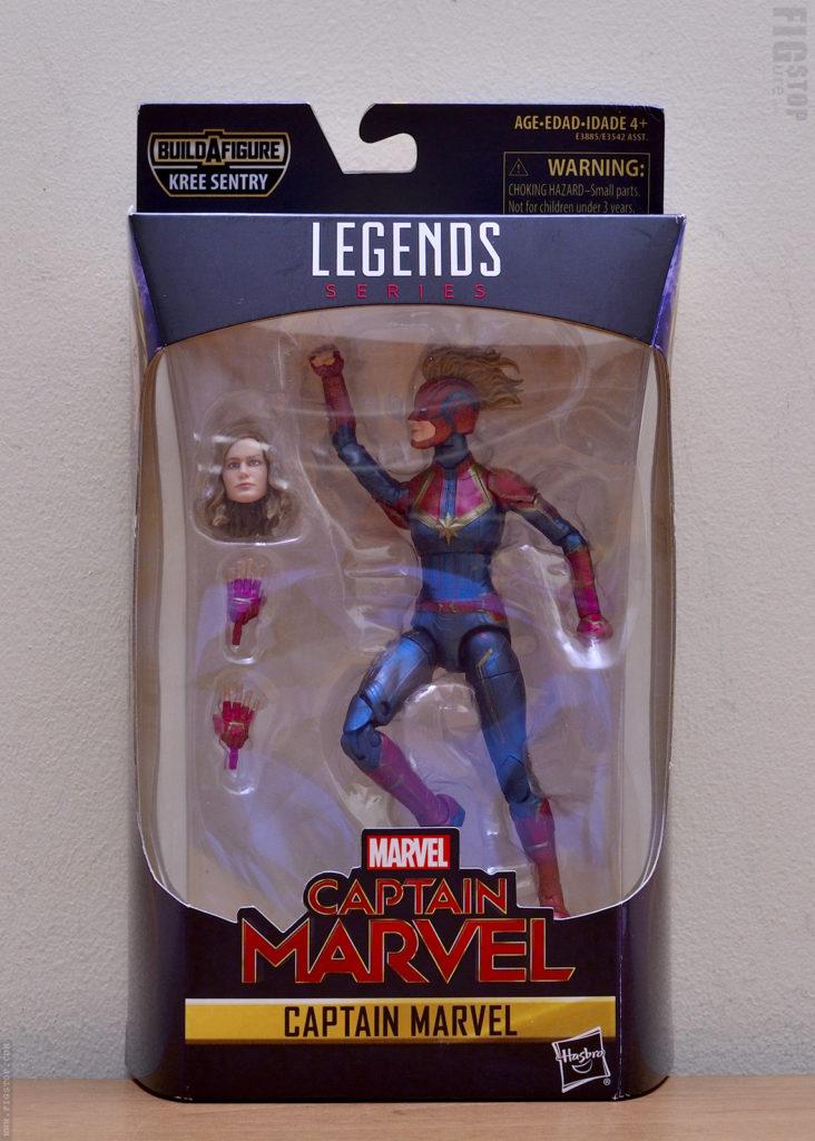 Hasbro Captain Marvel - Box