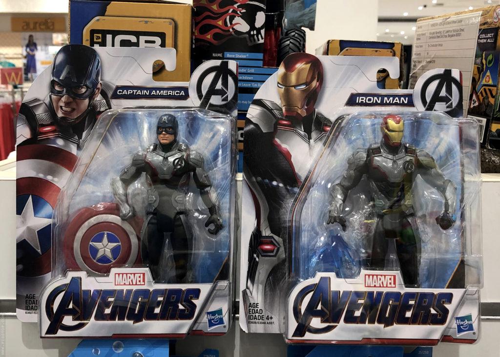 Marvel Avengers Endgame - Captain America and Iron Man