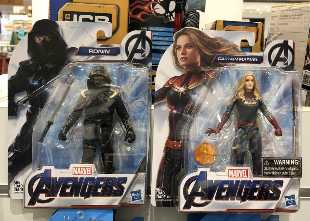 Marvel Avengers Endgame - Ronin and Captain Marvel