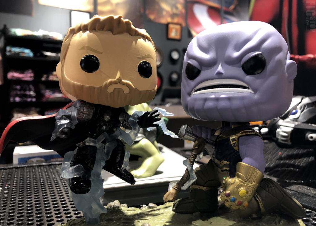 Funko Pop - Thanos vs Thor