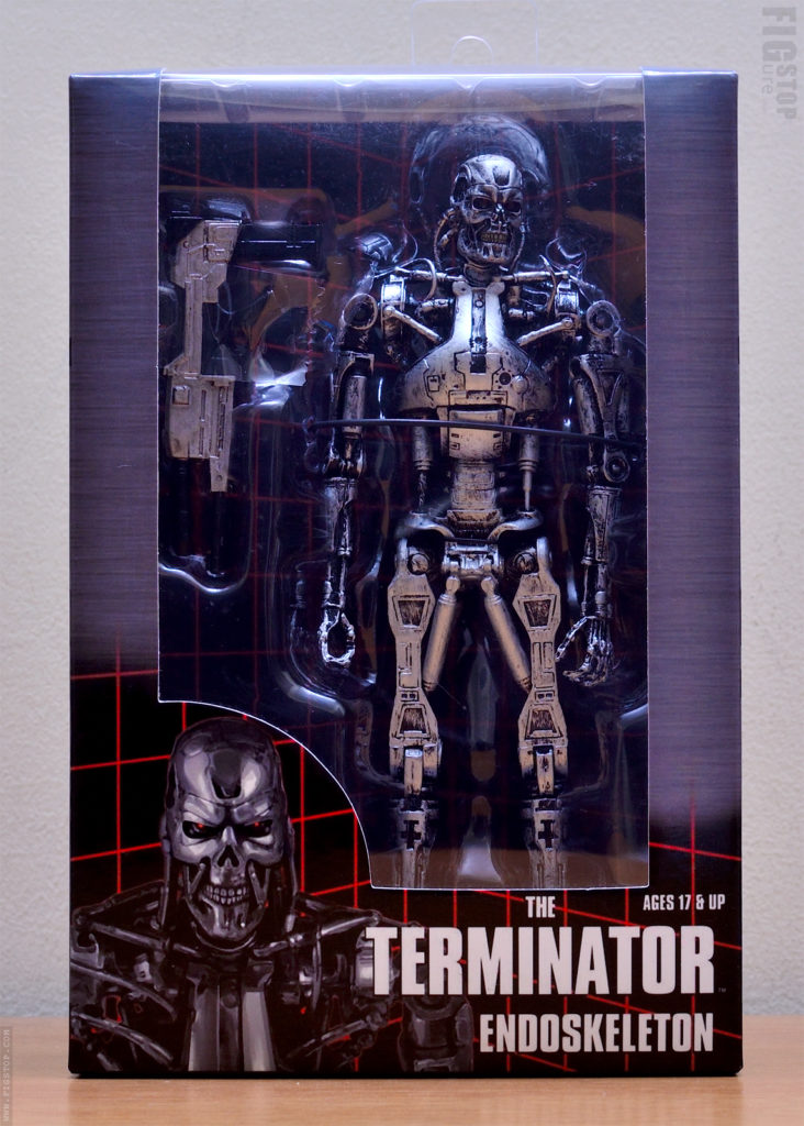 The Terminator Endoskeleton - Neca