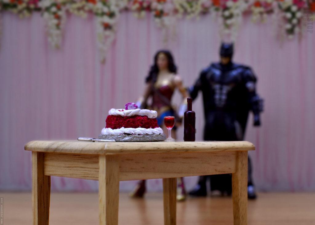 Wonder Woman's Surpirse Birthday Party with Batman