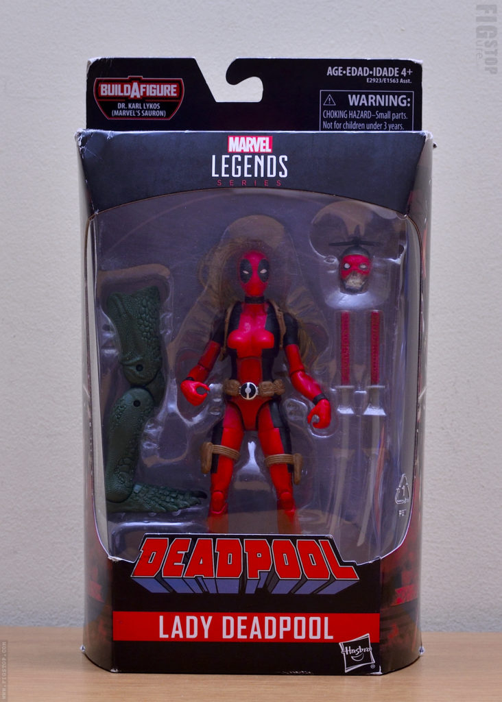 Marvel's Sauron Wave Lady Deadpool