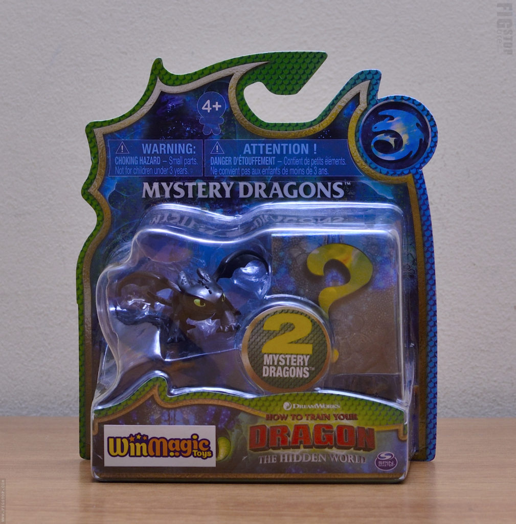 Mystery Dragons - Night Fury