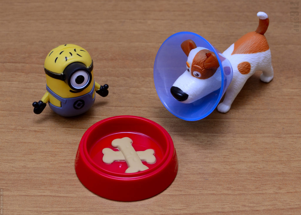 McDonalds Happymeal Toy and Cadbury Dairy Milk Lickables Toy