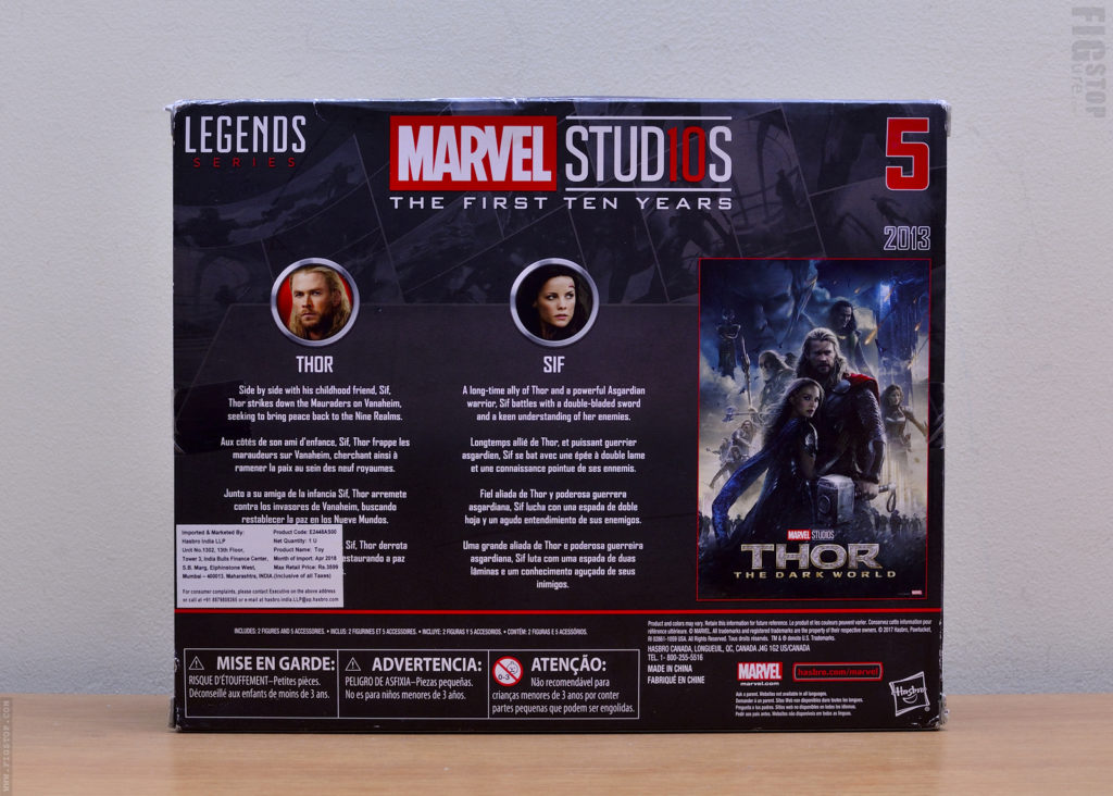 Thor The Dark World - Thor and Sif Action Figures