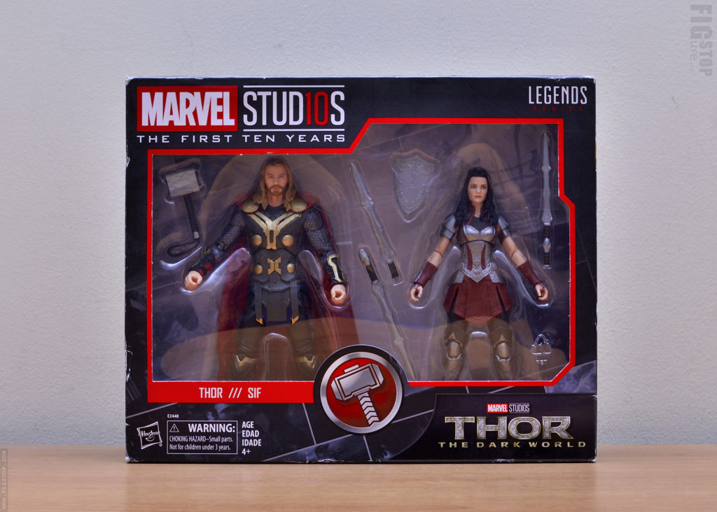 Marvel Studios First 10 Years - Thor & Sif Action Figures