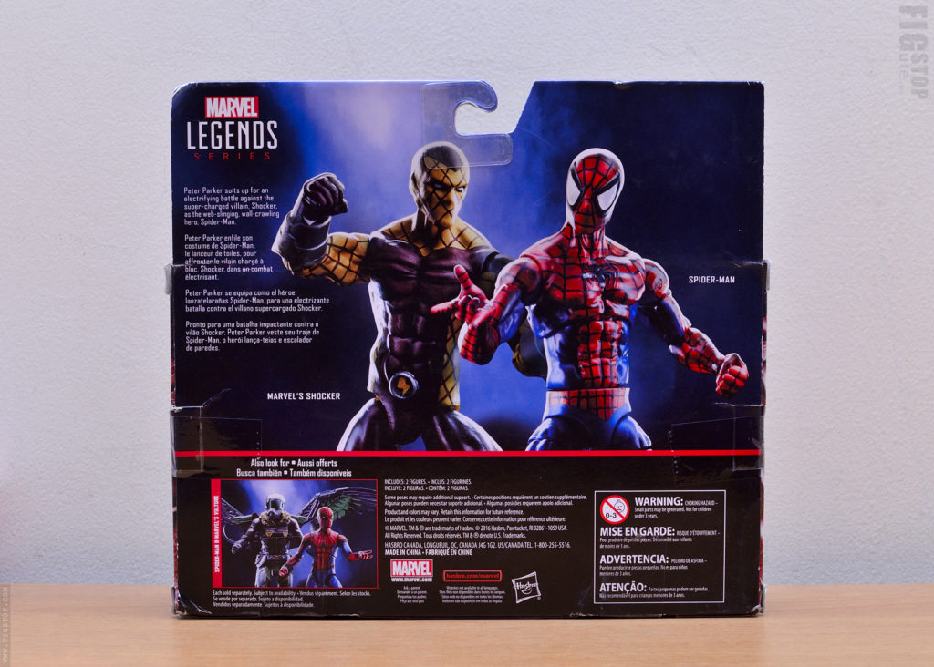 3.75inch Spider Man & Shocker - Two Pack Action Figure