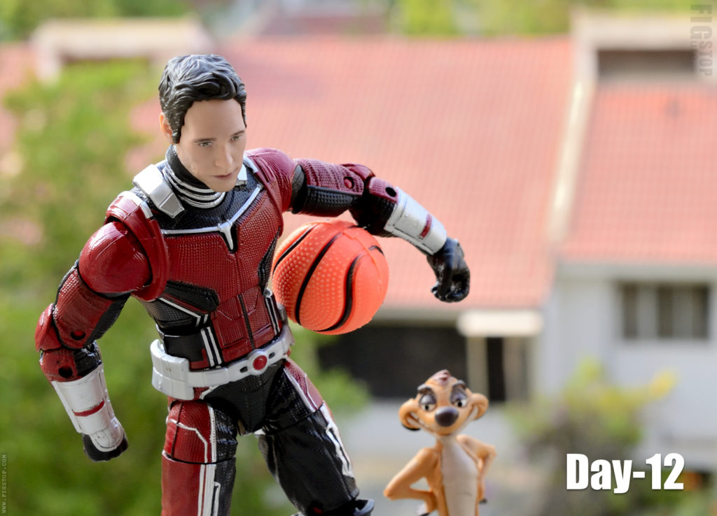 Antman's Basketball Buddy - Day 12