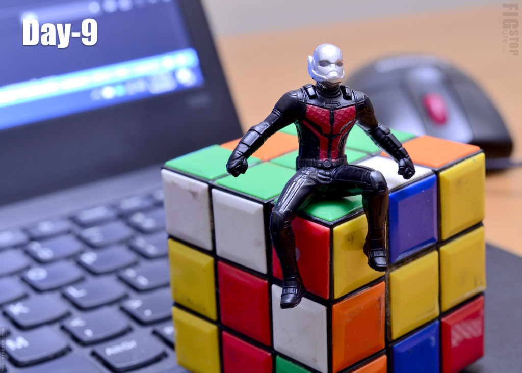Antman's Rubik Cube - Day 9