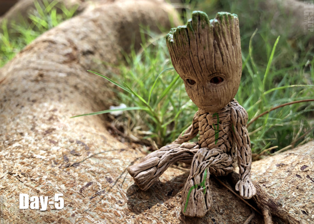 Baby Groot - Day 5