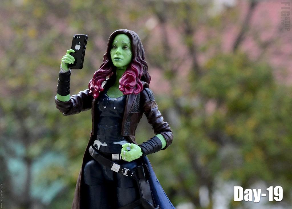 Gamora's Selfie Challenge - Day 19