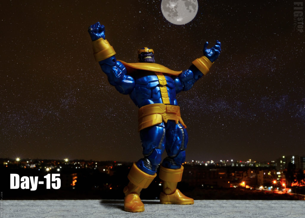 Thanos Enjoying Night Sky - Day 15
