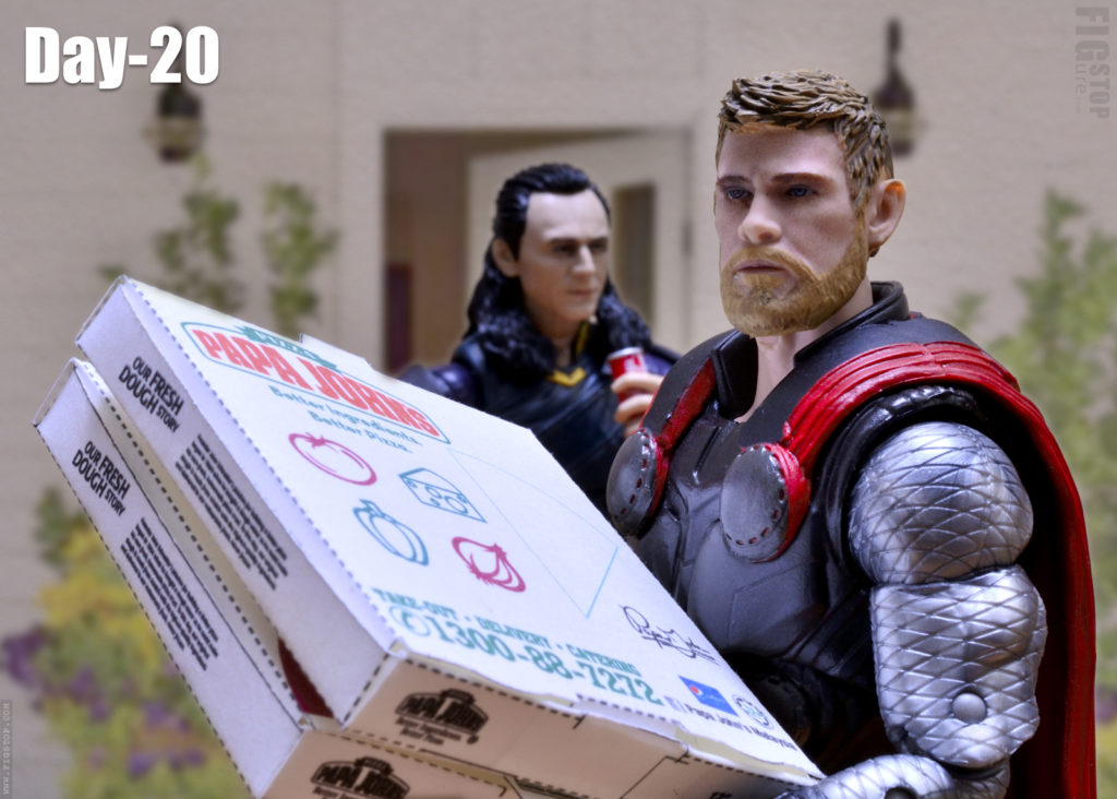 Thor's Pizza Party - Day 20