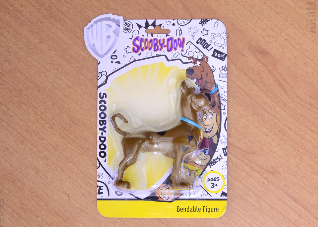 Scooby Doo Bendable Figure - Package