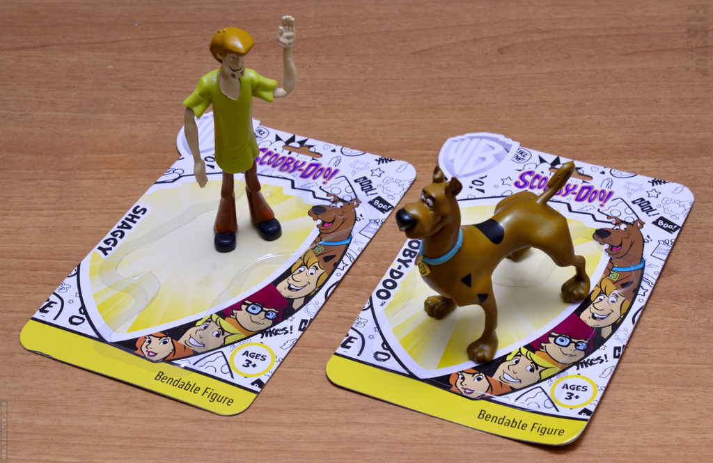 Scooby Doo and Shaggy Bendable Figure - Unboxed