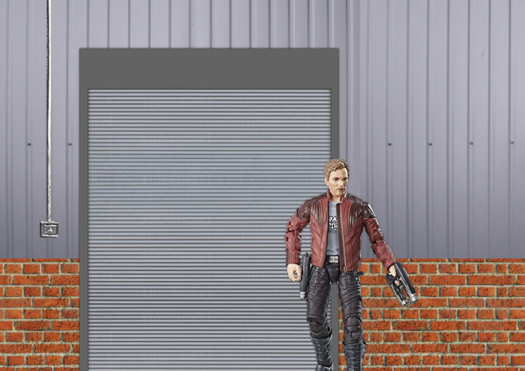 Warehouse Diorama Photoshop Rendering