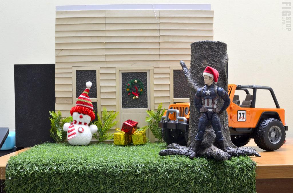 Behind the Scene - Christmas Toy Photos - Captain America