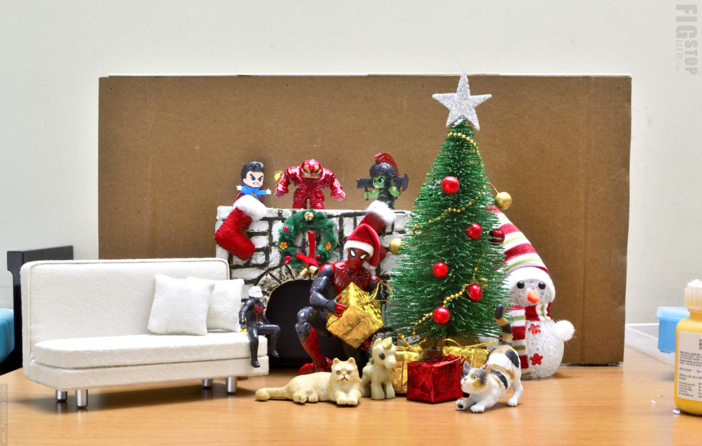 Behind the Scene - Christmas Toy Photos - Spiderman